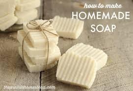 homemade hot process soap recipe