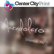 Vinyl Decals Scranton Pa Kingston Pa Center City Print