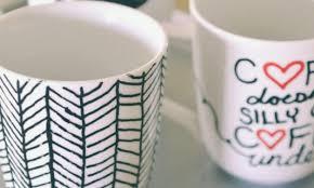 easy diy sharpie mugs sharpie mug