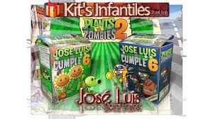 Kit Imprimible Invitaciones Set Theme Party Invitation Plantas