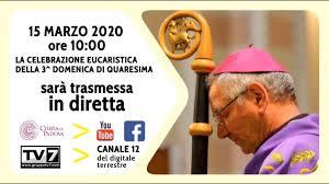 Diretta Santa Messa 15 marzo 2020 - YouTube