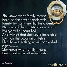 she knows what family mea quotes writings by harpreet kaur