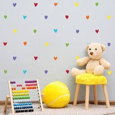 Rainbow Hearts Decals Labeldaddy