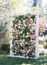 the garden wedding décor every romantic