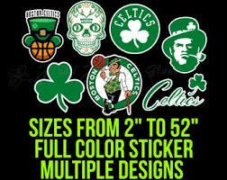 Boston Sticker Etsy