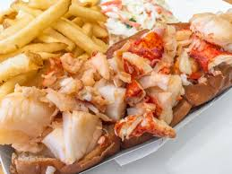 The hot buttered lobster roll at Legal ...