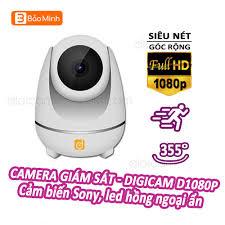 Camera Giám Sát Thông Minh Cao Cấp Digicam D1080P Quay quét 355 độ cảm biến  Sony