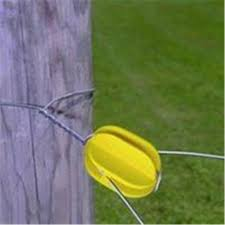Fi Shock 0172981 Fi Shock Electric Fence Insulators 44 Corner 44 Yellow Walmart Canada
