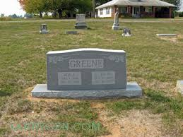 Headstones: Ralph Green and Ada Fowler: Larry Simpson / Treasures from the  Past