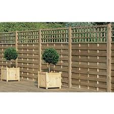Wickes Hertford Fence Panel 1 8mx1 2m 3 Pack Decorative Fence Panels Trellis Fence Panels Fence Panels