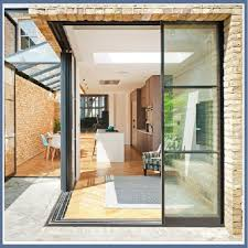 low e reflective glass glazing corner