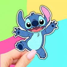 Lilo And Stitch Stickers Vinyl Stickers Aesthetic Stickers Car Decal Water Bottle Sticker