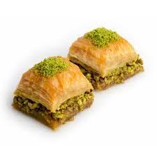 calories in baklava with pistachio