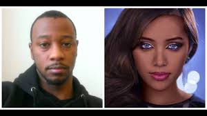 black guy does mice phan makeup