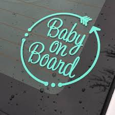 Baby On Board Decal Baby Window Decal Baby On Board With Etsy In 2020 Baby Decals Window Decals Car Vinyls Car Decals