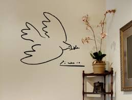 Picasso Dove Wall Decal Art Trading Phrases