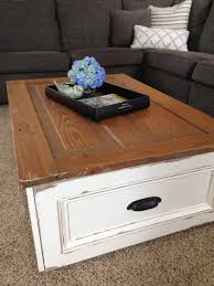 diy coffee table with storage free