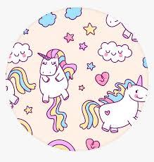 transpa rainbow unicorn png