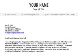 cover letter that will get you a job