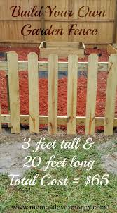 Build Your Own Diy Garden Fence Small Garden Fence Diy Garden Fence Diy Fence