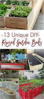 13 unique diy raised garden beds