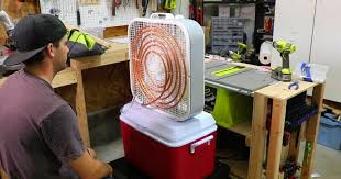 diy homemade air conditioner using a