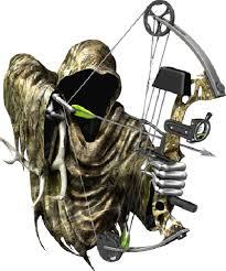 Bow Reaper Rear Window Decal 13