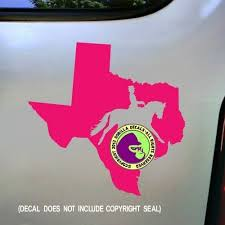 Texas State Dressage Vinyl Decal Sticker C Sports Outdoors Car Vehicle Accessories
