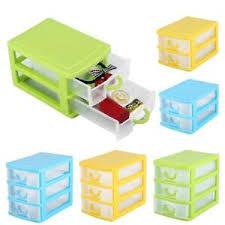 plastic 2 3 layers drawer organizer