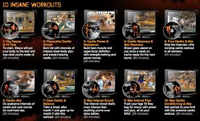 insanity workout dvd s see each