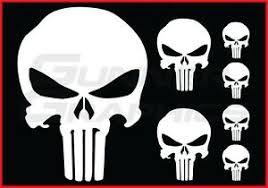Punisher Pack Fits Dodge Ram Rear Window Decal Punisher Decals 7 Decal Set Ebay