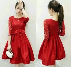 Model dress christmas dress gaun natal. Mini Dress Natal Baju Pesta Natal Brokat Dress Brokat Di Lapak Sufi Iskandar Bukalapak