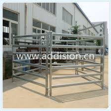 China Quality Australia Fenceline Feeder Sheep Cattle Panels China Cattle Yard Cattle Gate Yard