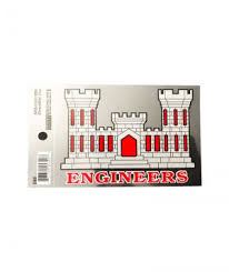 Decals Magnets Archives Army Engineer