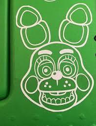 Free Shipping Five Nights At Freddy S Toy Bonnie Vinyl Decal Ebay