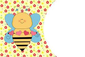 Invitaciones Para Imprimir Gratis De Abejas Y Flores Segunda Parte Ideas Y Material Gratis Para Fiestas Y Celebraciones Oh My Fiesta