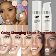 magic color changing foundation mm