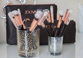 zoeva rose gold brushes review demo
