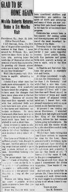 ROBERTS Gleanings from The Press - 1915-1922 - SteveEskew.com