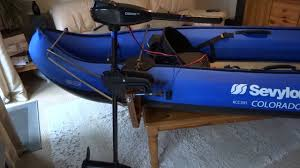 how to fit a trolling motor to your kayak