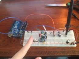 homemade ecg machine using infrared n1qq
