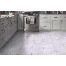 Peel And Stick Vinyl Tile Flooring Vinyl Flooring Resilient Flooring The Home Depot