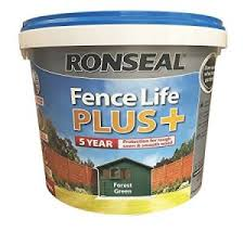 Ronseal Fence Life Plus Forest Green 5 Litre Coulsdon Home Hardware