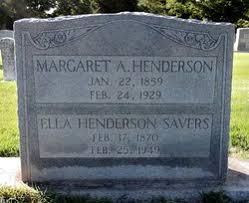 Margaret Abigail Henderson (1859-1929) - Find A Grave Memorial