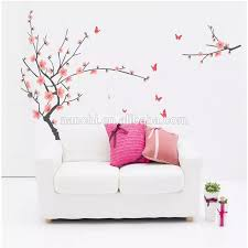Removable Wall Stickers Plum And Butterflies Home Decoration Giant Wall Decals Jm7138 Buy Home Decor Family Tree Wall Decal Atv Stickers And Decals Transparent Wall Decal Product On Alibaba Com