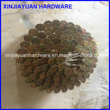 electro galvanized coil roofing nail