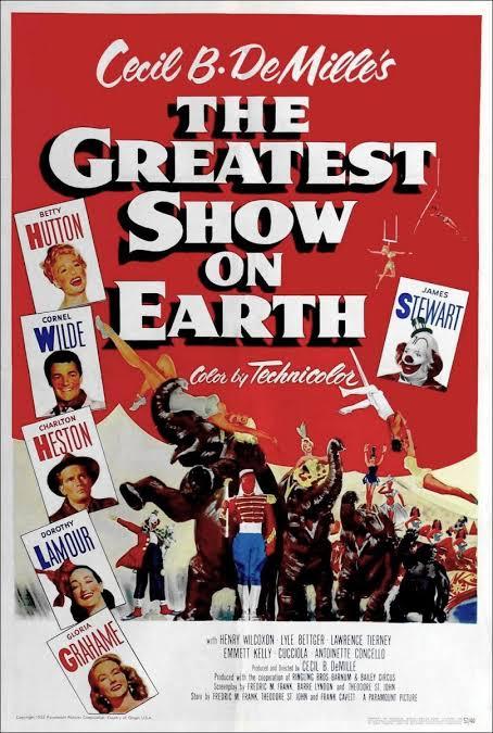 """Resultado de imagen para the greatest show on earth"""""""