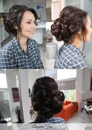 enement makeup and hairstyle