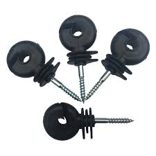 50pcs Electric Fence Insulators Screw In Post Wire Stable And Easy To Twist Electric Fence Ring Insulator Guardian Small Animals Screws Aliexpress
