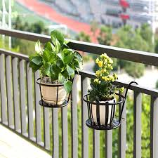 Rail Hanging Flower Pot Mexten Product Is Of High Quality